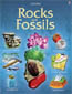 Rocks and Fossils Book $6.99...What do rocks and fossils tell us about the past? Why do rocks cause earthquakes and volcanoes? How are rocks and fossils formed? Not only does this fascinating and beautifully illustrated book answer all these questions, it also shows the reader how to identify rocks and fossils, and where to look for them. For ALL Ages. Paperback 32 pages.  In Stock. Buy it NOW