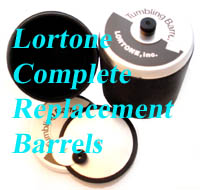 1.5 pound barrel for smaller loads for Lortone(c) Rotary Tumblers - spare tumbler barrels, motors, replacement drive belts and extra parts. In Stock - Order NOW!